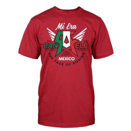d74ebdc8 Official Canelo Alvarez Mi Era Red Boxing Gear T-Shirt Canada ...