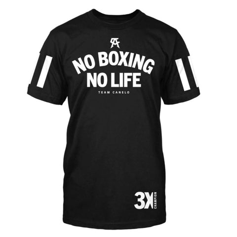 Official Canelo Alvarez Stripe No Boxing No Life T-Shirt Buy