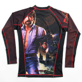 Fusion Fight Gear Chuck Norris Invasion USA Rashguard Rash Guard Edmonton
