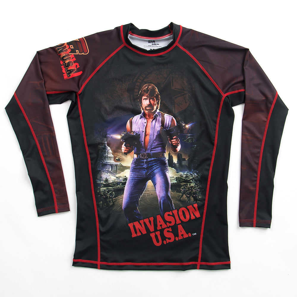 Fusion Fight Gear Chuck Norris Rashguard Rash Guard Canada