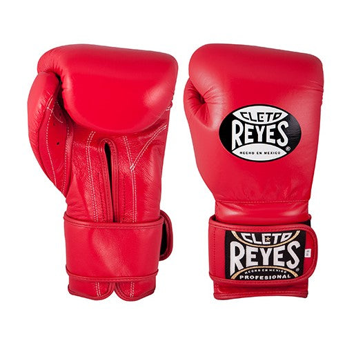 Cleto Reyes Training Velcro Boxing Gloves Red
