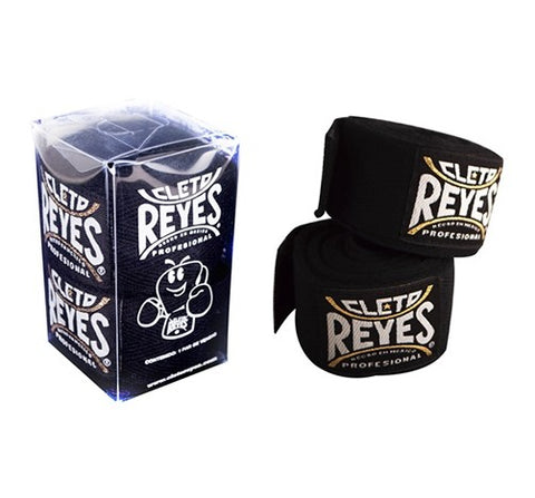 Cleto Reyes Authentic Mexican Handwraps Hand Wraps Black