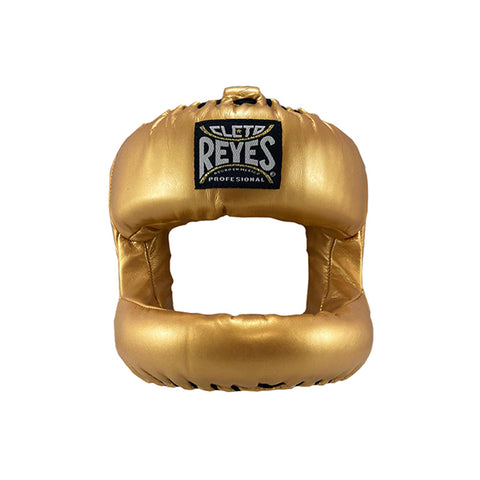Cleto Reyes Facesaver with Nylon Bar Headgear Head Gear Solid Gold