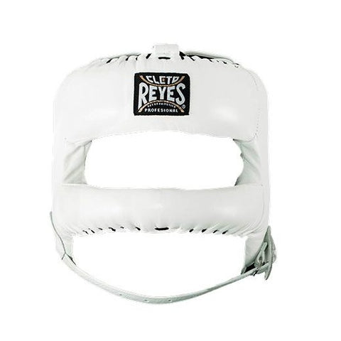 Cleto Reyes Facesaver with Nylon Bar Headgear Head Gear White