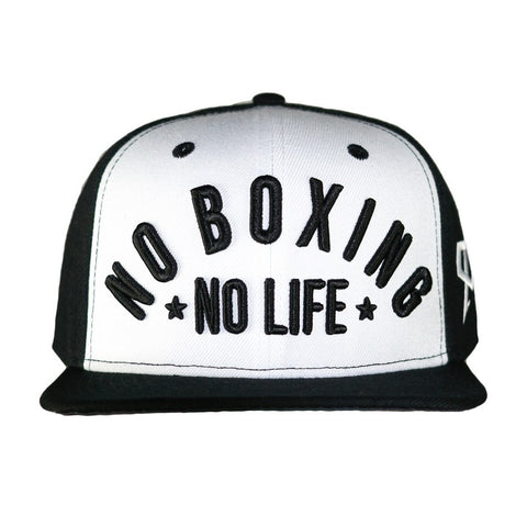 Official Canelo Alvarez No Boxing No Life Snapback Cap Black/White