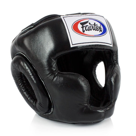 Fairtex HG3 Headgear Canada Head Gear Black