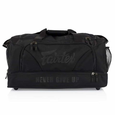 Fairtex BAG2 Gym Duffle Equipment Bag - Stealth Black