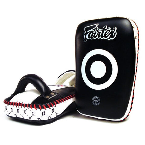 Fairtex KPLC1 Curved Super Compact Thai Kick Pads