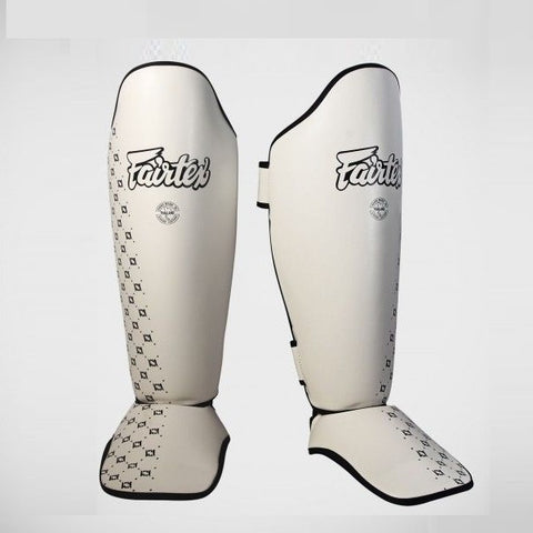 Fairtex SP5 Competition Shin Guards Instep White