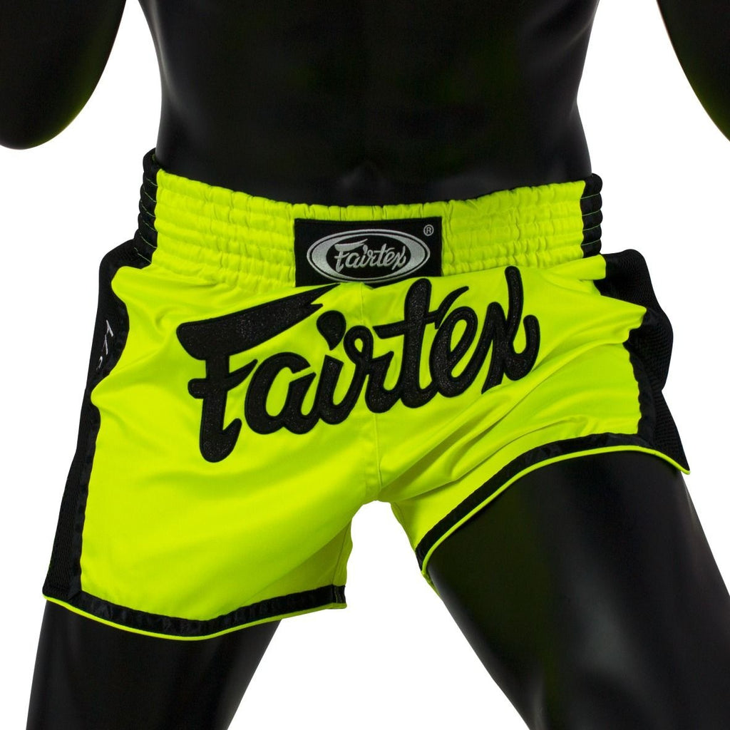 Fairtex Muay Thai Shorts BS1706 Lime Green