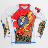 Fusion Fight Gear Kids Youth The Flash Comet Rashguard Rash Guard