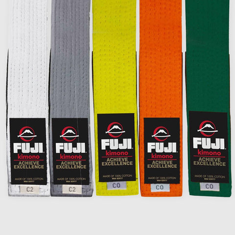 Fuji Sports Kids/Youth Jiu Jitsu BJJ Rank Gi Belt