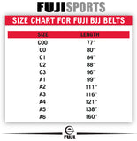 Fuji Sports Jiu Jitsu BJJ Rank Gi Belt