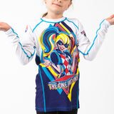 Fusion Fight Gear Kids Youth Harley Quinn Rashguard Rash Guard Canada