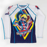 Fusion Fight Gear Kids Youth Harley Quinn Rashguard Rash Guard