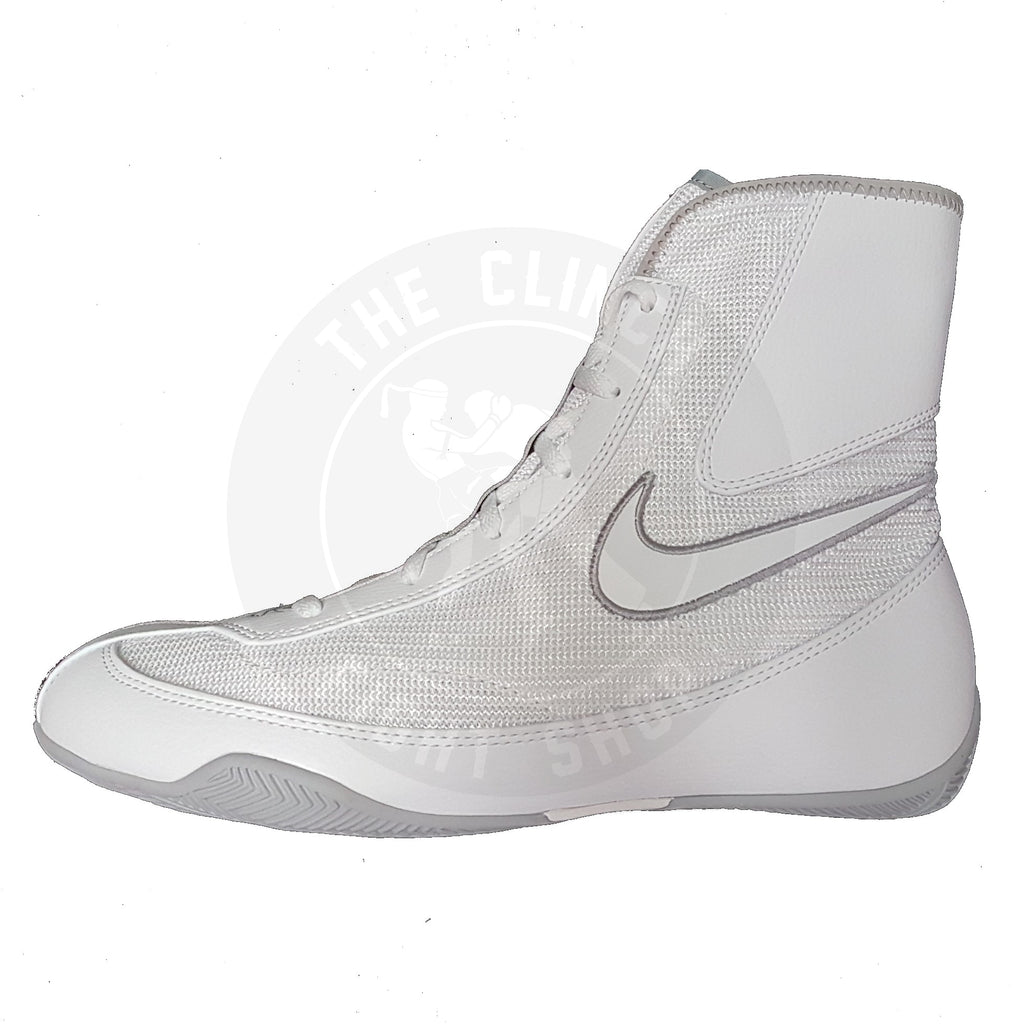 Nike Boxing Canada Machomai 2 Mid Shoes Boots White/Grey