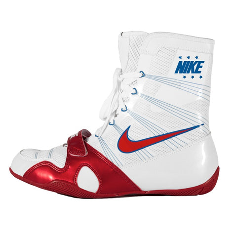 Nike Boxing Canada HyperKO Boots Shoes White Red