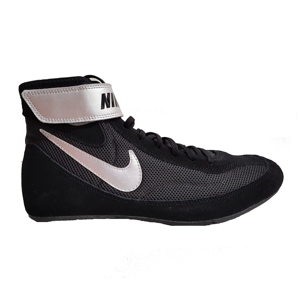 Nike Wrestling Shoes Canada Speedsweep IV Black/Grey Silver