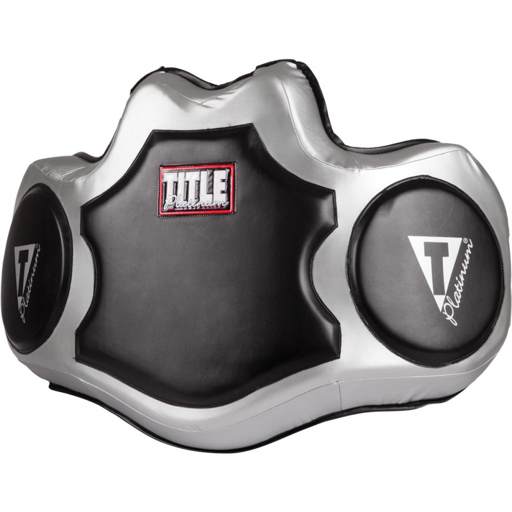 Title Boxing Platinum Body Protector Belly Pad
