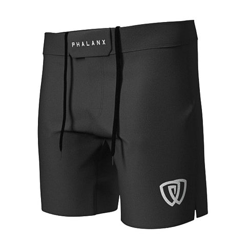 Phalanx canada Worlds RIZR Black MMA Grappling BJJ Shorts
