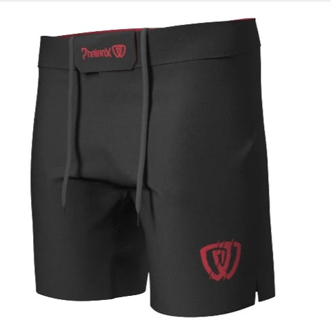 Phalanx canada Beast Mode RIZR Black MMA Grappling BJJ Shorts