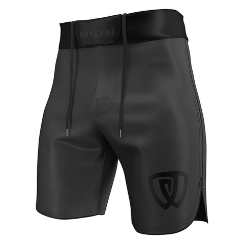 Phalanx Shorts Canada Worlds Ultralight HPLT Deep Grey MMA Grappling BJJ