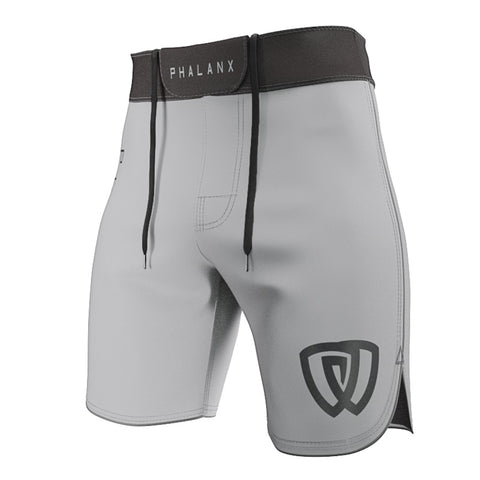 Phalanx Edmonton Worlds Ultralight HPLT Battle Grey MMA Grappling BJJ Shorts