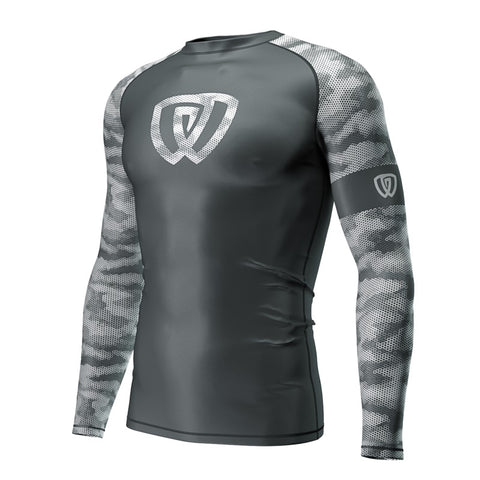 Phalanx Jiu Jitsu Canada Winter Solider Compression Rash Guard Rashguard