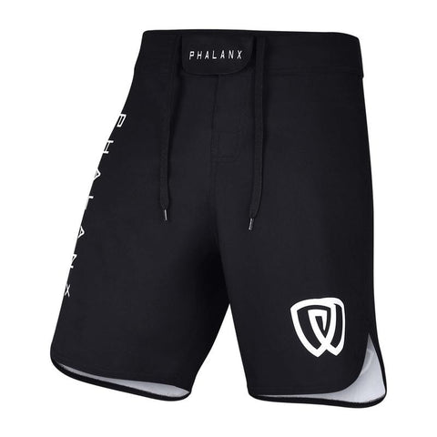 Phalanx Canada Worlds Ultralight HPLT Black MMA Grappling BJJ Shorts