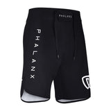 Phalanx Jiu Jitsu Edmonton Worlds Ultralight HPLT Black MMA Grappling BJJ Shorts