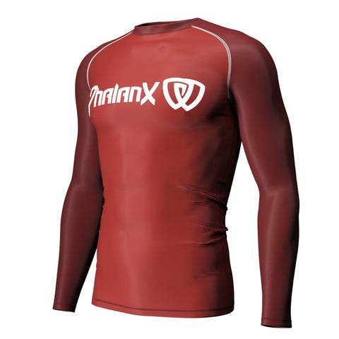 Phalanx BJJ CANADA Crimson Compression Rash Guard Rashguard