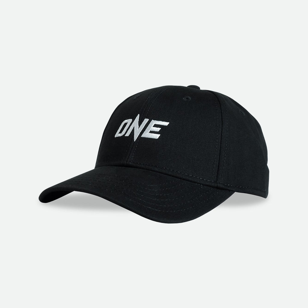 OneFC White Logo Curved Baseball Cap Hat