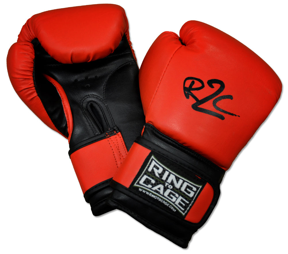 Ring to Cage Kids Youth Boxing Gloves Edmonton Red/Black