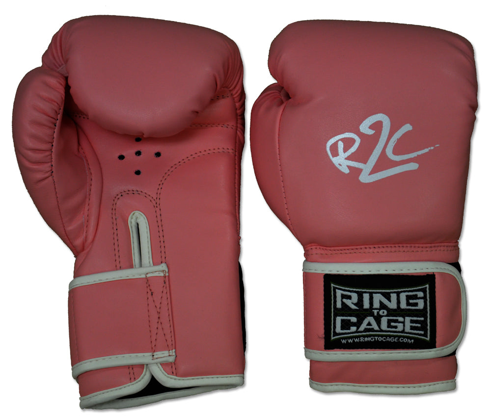 Ring to Cage Kids Youth Boxing Gloves Pink