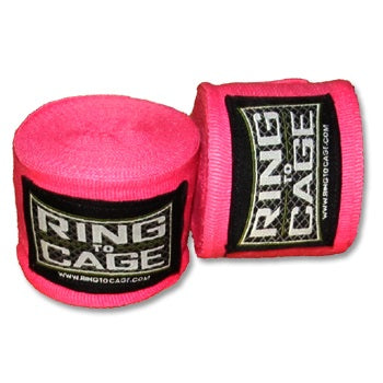 Ring to Cage Boxing Mexican Hand Wraps Handwraps Various Neon Colours