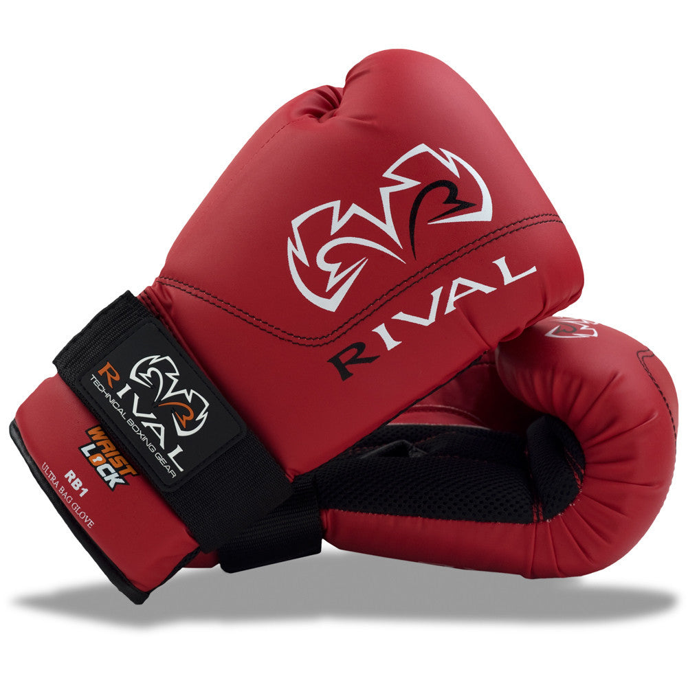 Rival Boxing Ultra Bag Gloves RB1 Red