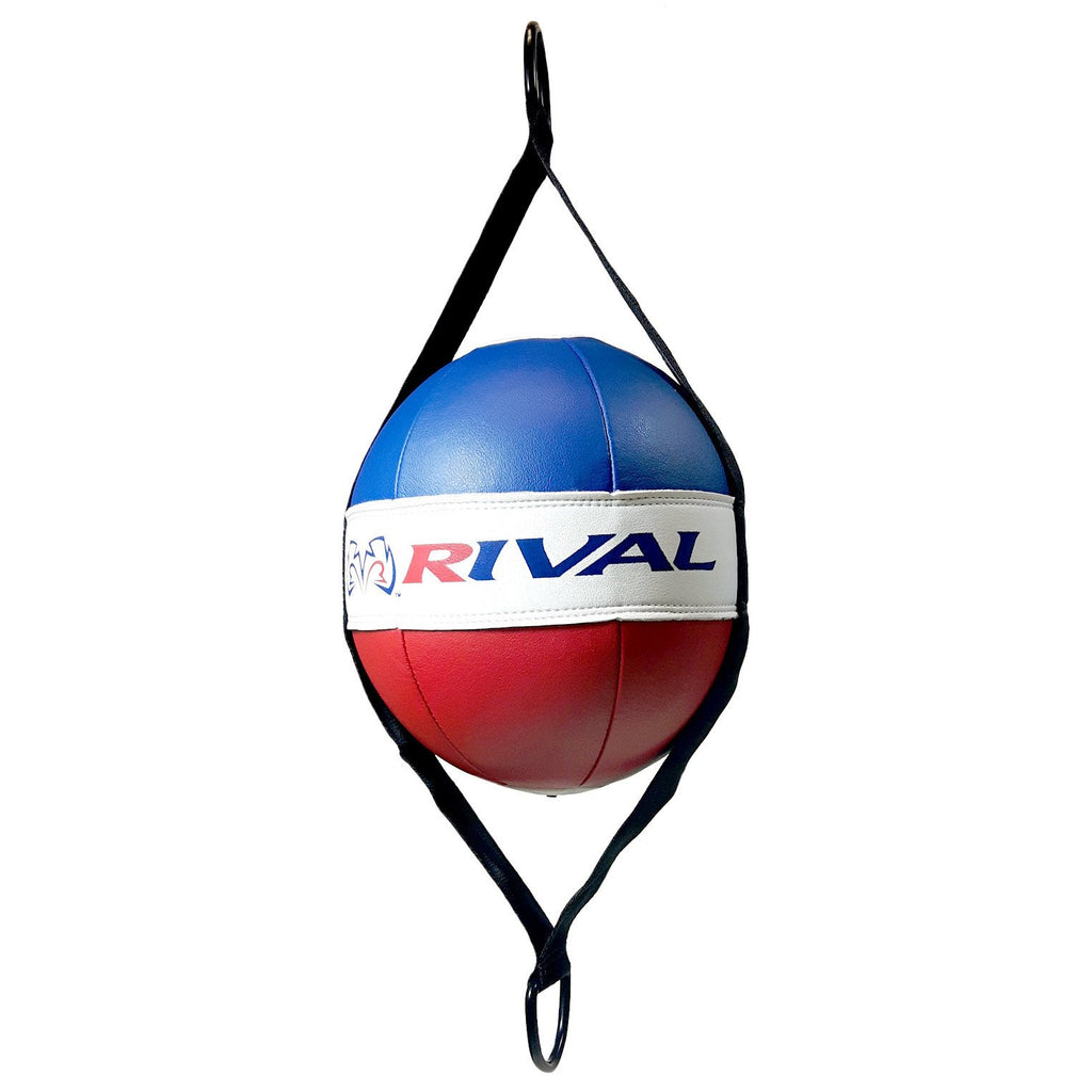 "Rival Boxing Double End Bag 8"" Red/White/Blue"