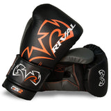 Rival Boxing RS11V Evolution Sparring Gloves Velcro Black