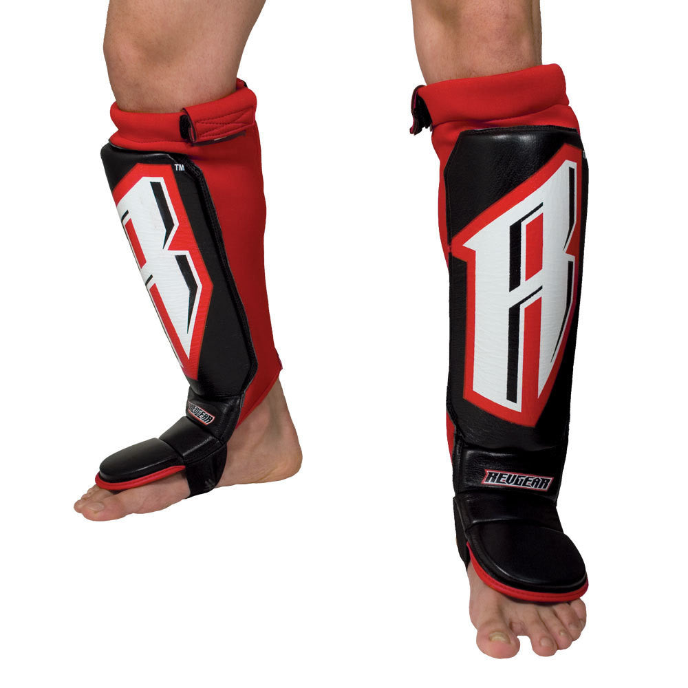 Revgear MMA Grappling Shin Guards Pads