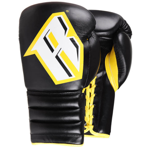 Revgear S4 Sentinel Pro Lace-up Gloves Black/Yellow