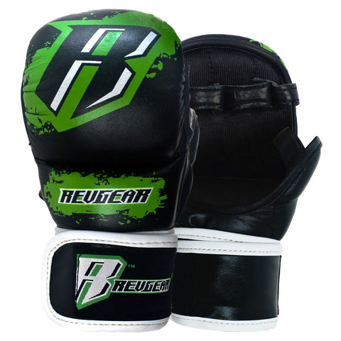 Revgear Kids Youth Leather MMA Training Sparring Gloves