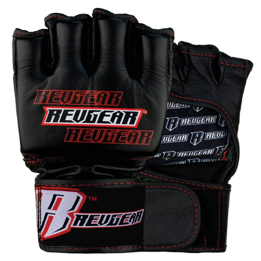 Revgear Challenger 4oz MMA Gloves Black