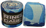 "Ring to Cage Blue Camo 180"" Boxing Hand Wraps Handwraps Canada"