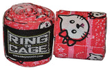 "Ring to Cage Pink Kitten 180"" Boxing Hand Wraps Handwraps Canada"