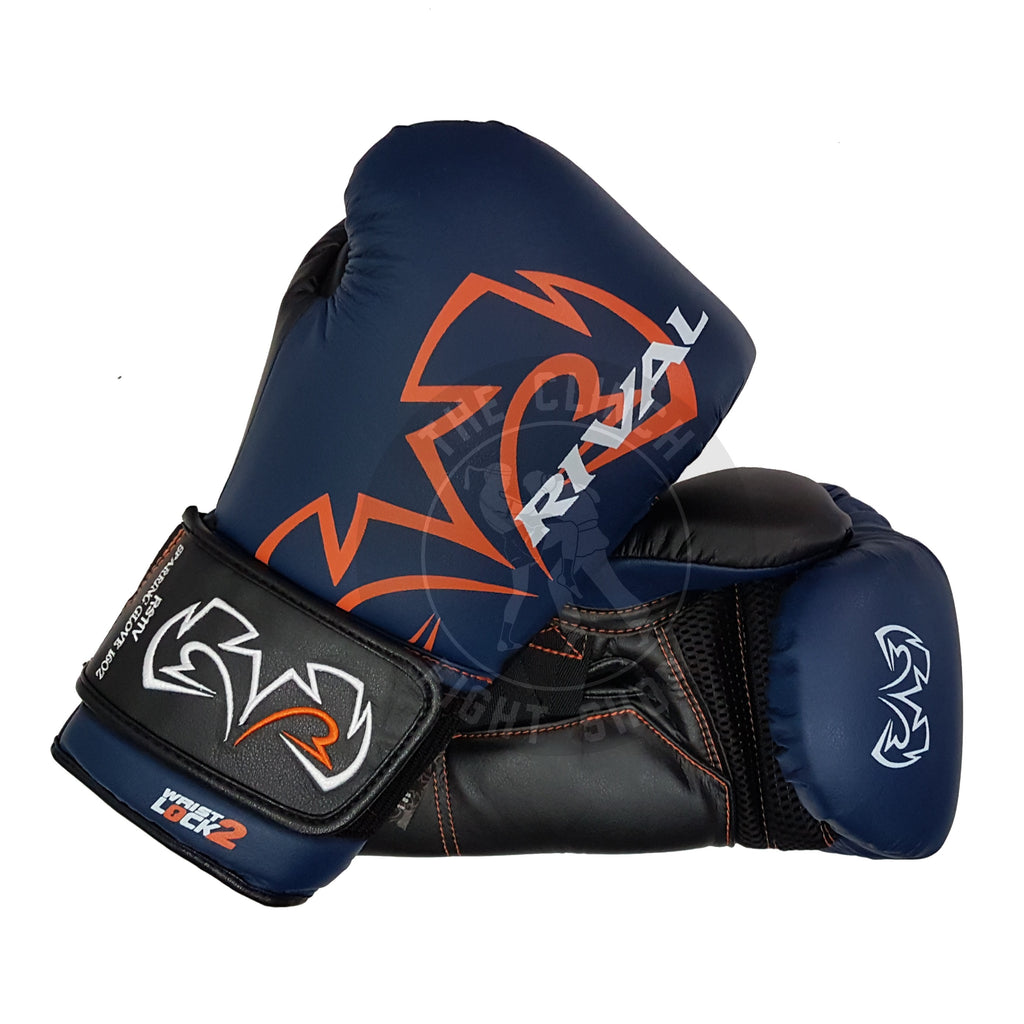 Rival Boxing RS11V Evolution Sparring Gloves Velcro Navy Blue