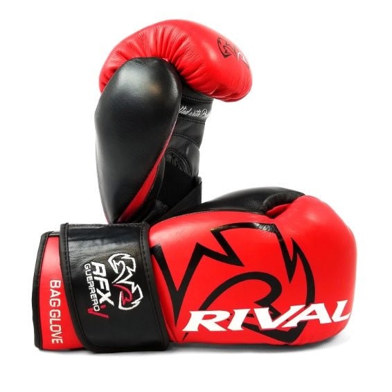 Rival Boxing RFX Guerrero Pro Bag Gloves 10 oz Red/Black