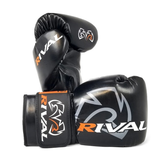 Rival Boxing RB4 Kids Youth Boxing Gloves Black