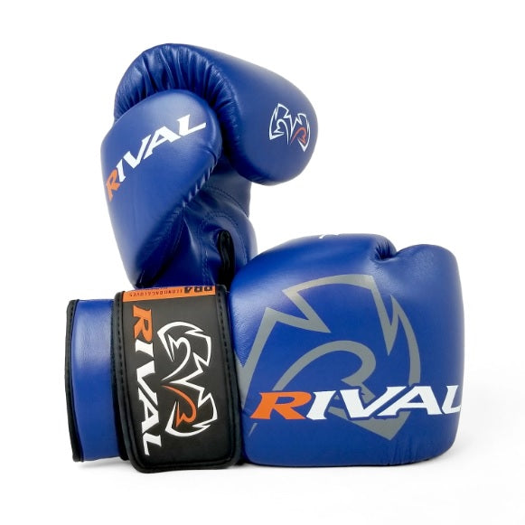 Rival Boxing RB4 Kids Youth Boxing Gloves Edmonton Blue