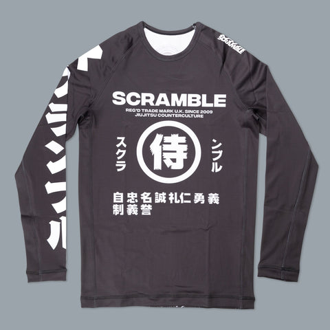 Scramble Brand canada Shadows V2 Rashguard Rash Guard Compression Shirt