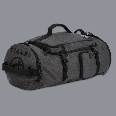 Scramble 3-Way Mitsu XL Holdall Duffle Gym Bag Convertible Backpack